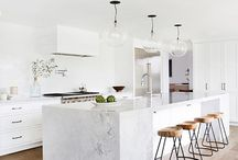 White French kitchen