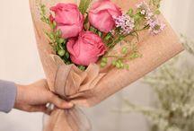 Three Flowers Bouquet