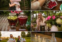 The reception / Ideas for our back yard wedding / by Christie Bronder