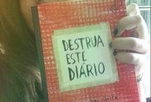 Destrua Este Diário - #Partes / Tudo o que faço no livro aqui!