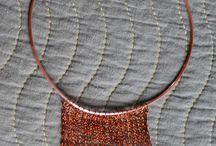 Collares con cobre