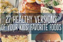 Healthy Kids' Munchies / Healthy snacks for the pickiest eaters: kids!