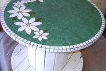 Mosaico para mesa e outros