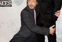 Robert Downey Jr hugs... / by Laura Pinchot