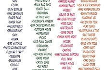 Sommerspaß Liste
