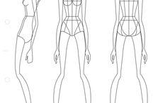 Fashion illustration _ уроки