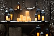 Décoration avec bougies / Idées de déco avec bougie / création d'ambiances