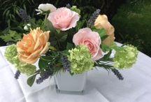 Silk Flowers / Beautiful silk flowers for trimmings