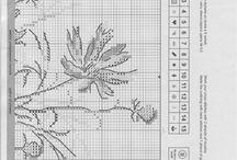 KWIATY / schematy