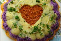 Uc renklı salata