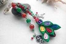 Keychains / #keychain #gifts #etsy #shop #handmade #women #girls #birthday #present