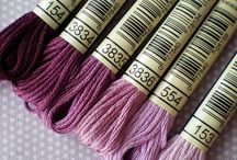 Embroidery - thread colour combinations