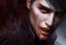 Vampirler , Kurtadamlar , Zombiler / Efsanevi yaratıklar hakkında.   Vampir , Kurtadam , Zombi