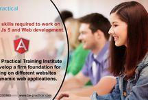 Web development and Angular js 5