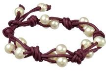 Beading - Bracelets - Leather