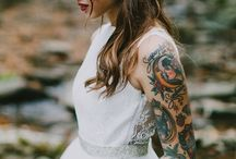 Alternative Wedding Ideas / As these brides prove, dressing and being alternative can look absolutely beautiful - be inspired by these edgy and alternative wedding ideas