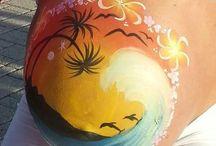 Belly Painting o TruccaPancioni / L'arte di decorare i pancioni....un'emozione infinita!