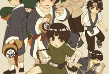 Rock Lee and Team 9