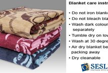 Blanket care instructions / Keep your Sesli blanket in tip top condition by following the care instructions