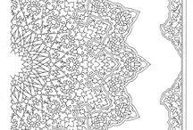Tezhip desenleri - Islamic illumination designs