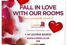 Valentine's Weekend Serviced Apartment Special Offer / Valentine's Weekend Serviced Apartment Special Offer from Cotels.
