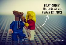 SOULFUL LEGO® / A project from http://www.pinterest.com/brickme/soulful-lego/ listen the thoughts - quotes of people like you and me.