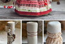 bonecas tecido