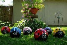 Garden - crafts / by Sue Overton Baggett