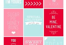 Cute ideas for gifts valentines / Xx