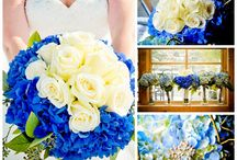 Blue Wedding Decorations / Something blue...or EVERYTHING blue.  Wherever your blue fetish falls, we have our favorite blue wedding hues pinned here!