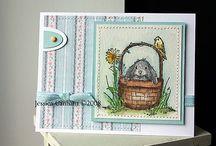 SU; Serene Spring cards