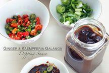 gember en galanga wortel