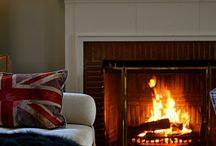 Fireplaces / by Nicola Chipps