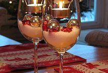 Chandelier Noël