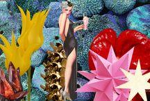 Collages by Hanna Cadesiz