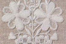 Schwalm / Bordado de Schwalm ou Bordado de Assia/Schwalm embroidery