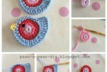 pajarito al crochet