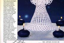 angelitos de crochet