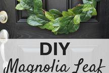 DIY   Wreaths / Wreaths for the front door or indoor decor pieces.