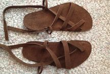 DIY huarache sandals and other barefoot