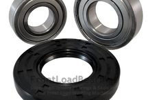 WHIRLPOOL / Whirlpool Washer Tub Bearings and Seal Kits High quality, high speed bearings & seal kits The kit includes 1 front bearing, 1 rear bearing, 1 front seal.