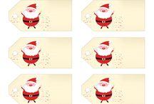 Pakowanie prezentów / Etykiety