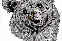 Badass Bear Faces