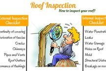 Roof Inspection / Easy ways for roof inspection to protect your roof from damages.