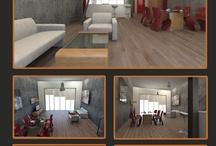 Render & interior design