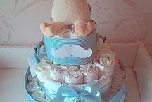 Diaper cake / DIY