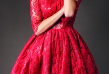 One day I'll make a red lace dress / by Sarah Foulkes