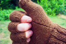 Knitting / Mittens