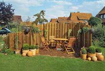 Trennwand Garten