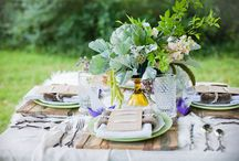 Tablescapes - rustic